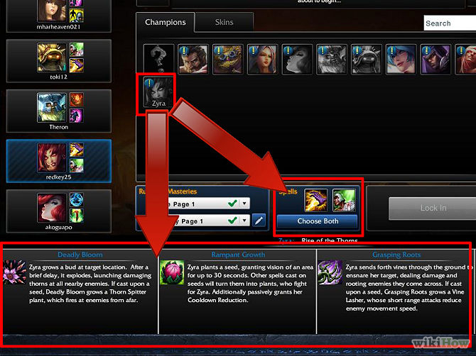 how to choose a starter champion lol